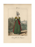 Young Woman of Bayeux Giclee Print