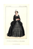 Mme. Guyon As Mme. De Maintenon in the Play Le Comte De Lavernie at the Porte St. Martin Giclee Print by Alexandre Lacauchie