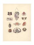 British Art Nouveau Pendants Giclee Print