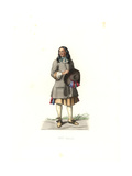 Peasant, France, 17th Century, From a 1679 Print by Jean De Saint-Jean Giclee Print by Edmond Lechevallier-Chevignard
