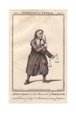 Charles Macklin As Shylock in the Merchant of Venice Giclee Print by J. Parkinson