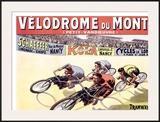 Velodrome du Montet Framed Giclee Print by Marcellin Auzolle