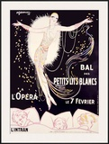 Bal des Petits Lits Blancs Framed Giclee Print by Charles Gesmar