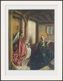 The Annunciation Art by Konrad Witz