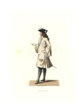 King Louis XIV of France, 1701 Giclee Print by Edmond Lechevallier-Chevignard