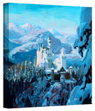 'Neuschwanstein Castle' Gallery-Wrapped Canvas Stretched Canvas Print by Markus Bleichner