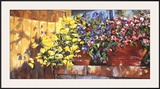 Wall Flowers Print by Mary Schaefer
