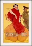 Estrella Framed Giclee Print by  Widhopff