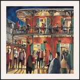 New Orleans Streets Poster by Didier Lourenco