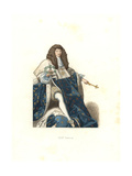 Young Louis XIV, King of France, 17th Century Giclee Print by Edmond Lechevallier-Chevignard