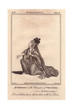 Mrs. Elizabeth Hopkins As Volumnia in Coriolanus Giclee Print by James Roberts