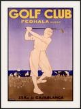 Golf Cup, Fedhala Maroc Framed Giclee Print by  Majorelle