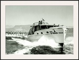El Rancho, Las Vegas Chris Craft Ski Boat Framed Giclee Print