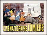 Cinematographe Lumiere Framed Giclee Print by Marcellin Auzolle
