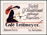 Cafe Leitmeyer Framed Giclee Print