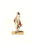 Young Nobleman From the Low Countries, 17th Century Giclee Print by Edmond Lechevallier-Chevignard