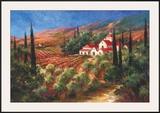 Tuscan Monastery Prints by Art Fronckowiak