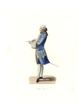 Charles Rosalie De Rohan-Chabot, Count of Jarnac, France, 18th Century Giclee Print by Edmond Lechevallier-Chevignard