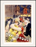Moulin Rouge Framed Giclee Print by E. Paul Villefroy