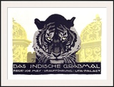 Das Indische Grabmal Framed Giclee Print by Ludwig Hohlwein