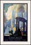 New York Central Lines, Chicago Posters by Leslie Ragan