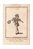 Monsieur Vestris Junior in the Ballet Les Amans Surpris, 1781 Giclee Print by James Roberts