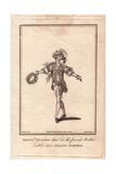 Monsieur Vestris Junior in the Ballet Les Amans Surpris, 1781 Giclee Print by James Roberts