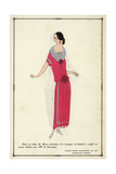 Costume Worn by Actress Mlle. B. Daussman From Art, Gout, Beaute 1923 Giclee Print