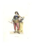 Gaston Jean Baptiste De France, Duke of Orleans, France, 17th Century Giclee Print by Edmond Lechevallier-Chevignard