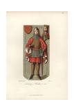 Battle Armour in Chain Mail And Plate Armor From the 15th Century Giclee Print by Jakob Heinrich Hefner-Alteneck