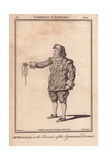 Mr. John Dunstall As the Syracusan Dromio in the Comedy of Errors Giclee Print by Robert Dighton