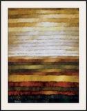 Preria Framed Giclee Print by Zenon Burdy