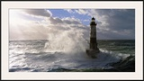 Phare d'Ar-Men pres de l'ile de Sein Prints by Jean Guichard