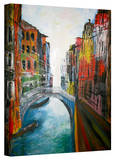 'Venice Grand Canale' Gallery-Wrapped Canvas Stretched Canvas Print by Martina Bleichner