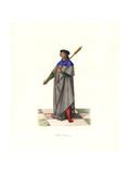Mace-bearer Under King Louis XII, 16th Century Giclee Print by Edmond Lechevallier-Chevignard