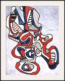 Ciseaux V, c.1967 Prints by Jean Dubuffet