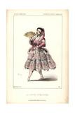 La Senora Perea Nena at the Gymnase Dramatique Giclee Print by Alexandre Lacauchie