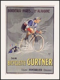 Bicyclette Gurtner Framed Giclee Print by  Mich (Michel Liebeaux)