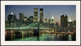 Manhattan Skyline and Brooklyn Bridge Prints by Kevin Fleming