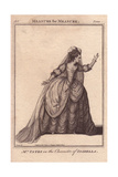 Mrs. Mary Ann Yates As Isabella in Measure for Measure Giclee Print by James Roberts