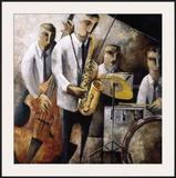 Jazz en Vivo Prints by Didier Lourenco