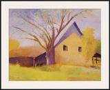 Old Cotton Barn, Beech Island, South Carolina Framed Giclee Print by Wolf Kahn
