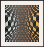 Untitled Posters by Victor Vasarely