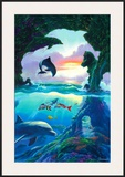 Seven Dolphins Art by Jim Warren