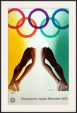 Munich Olympics Prints by Allen Jones