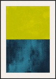 Monochrome Yellow, c.2005 Poster by Vlado Fieri
