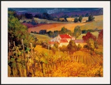 Vineyard Hill Posters by Philip Craig