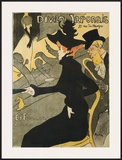 Le Divan Japonais Poster by Henri de Toulouse-Lautrec
