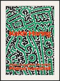 Untitled (For Maria), Detail Prints by Haring