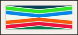 Zone Tropicale, c.1964 Posters by Kenneth Noland
